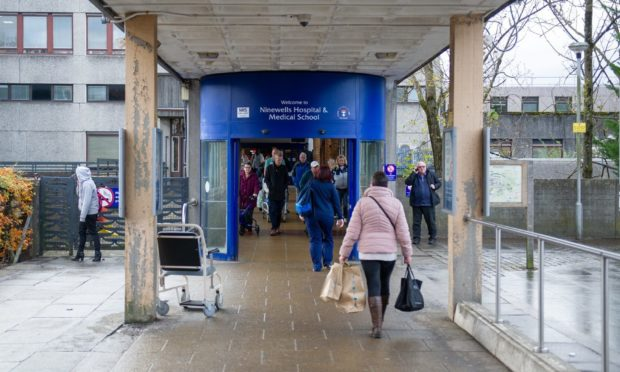 Ninewells is NHS Tayside's largest and busiest hospital.