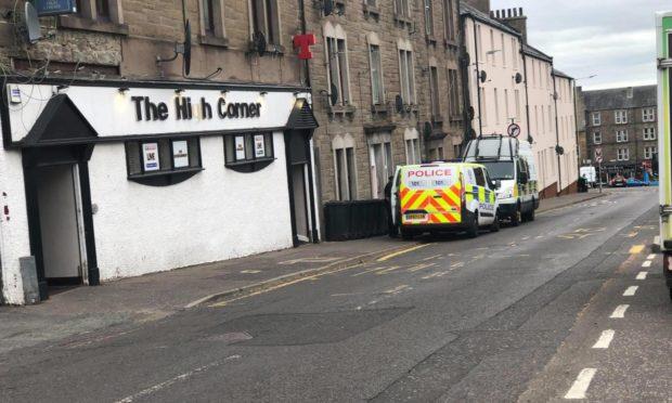 Police Kinghorne Road Dundee