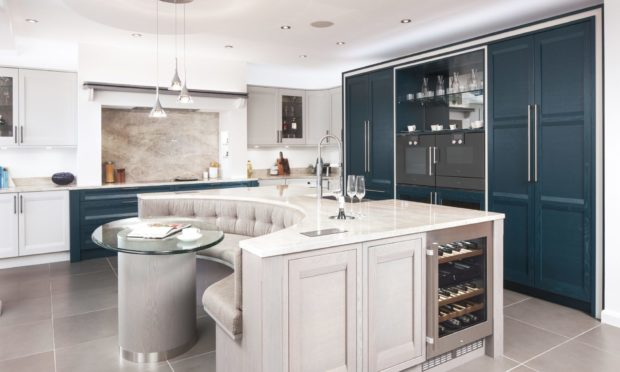 A Kitchens International kitchen - the company is now under the ownership of James Donaldson & Sons.