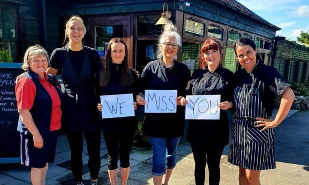 "Milton Haugh Farm Shop in Angus has issued a plea over ""vanishing"" customers."