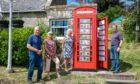 Blebo Craigs phone box