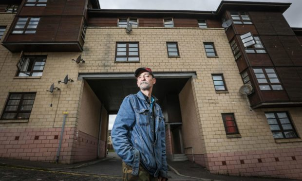 George Mitchell was given fake keys to his new flat, after handing over £700.