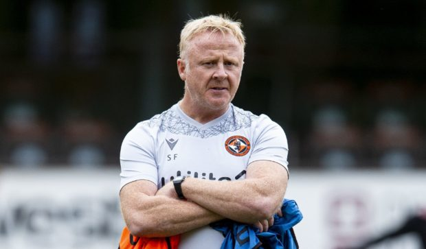Stevie Frail has left his role as assistant manager at Dundee United following the departure of boss Micky Mellon.