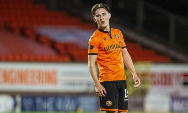 Dundee United winger Logan Chalmers is set to agree new terms.