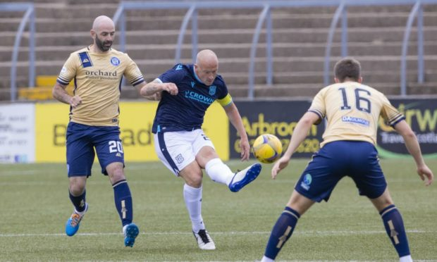 Dundee faced Forfar in a friendly last week.