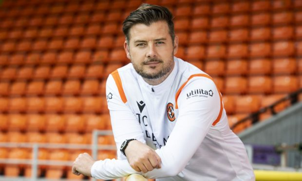 Dundee United boss Tam Courts.