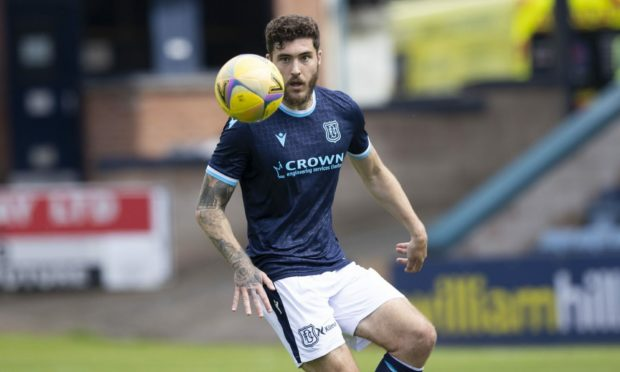 Dundee defender Ryan Sweeney.