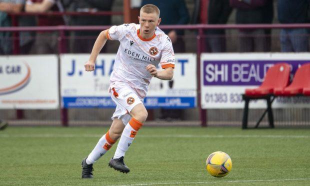 Dundee United kid Flynn Duffy.