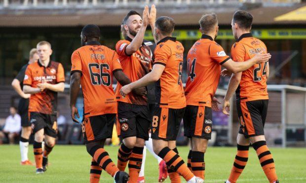 Dundee United hammered Elgin City at Tannadice last night.