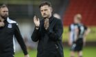 Dundee United boss Tam Courts has work to do.