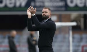 James McPake hails 'outstanding' Dundee response to testing week as he blasts referee performance in St Mirren draw