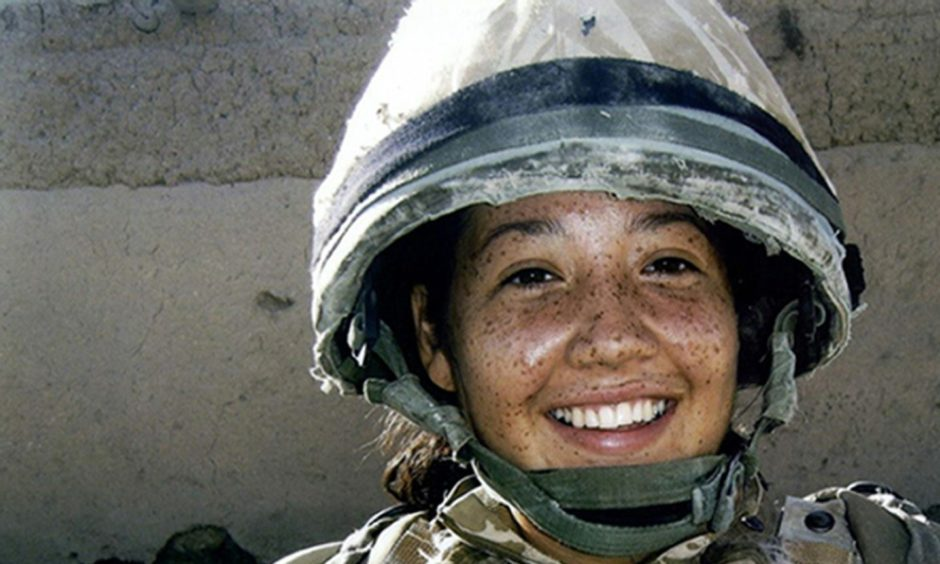 Corporal Channing Day from 3 Medical Regiment