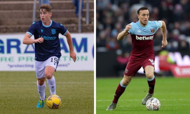 Fin Robertson and Mark Noble.