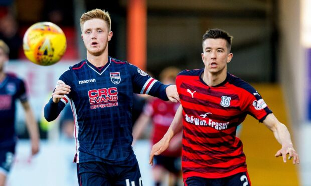 Dundee face Ross County on Sunday.