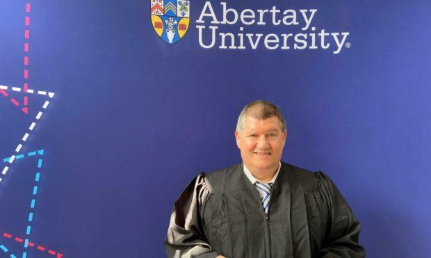 cowdenbeath man graduates with law degree from abertay university