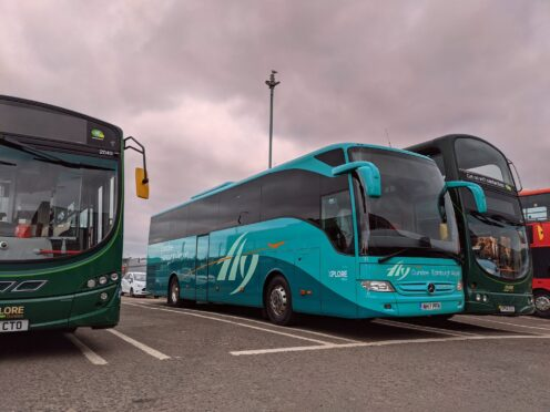airport xpress bus from dundee to edinburgh airport