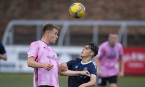 Dundee B 1-2 Peterhead: Blue Toon come from behind to knock Dee youngsters out of Challenge Cup