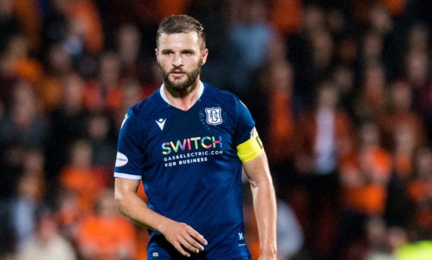 Jamie Ness captained Dundee at Tannadice.