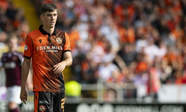Chris Mochrie has a bright future at Tannadice after making his full Dundee United debut