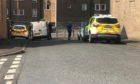 Police on Cowan Street.