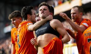 Former Dundee United striker Lawrence Shankland labelled 'killer in the box' as he bids to emulate four-goal Tannadice debut in Belgium