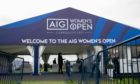 Thousands of fans turn out to the first day of the AIG Women's Open in Carnoustie.