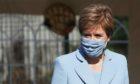 Nicola Sturgeon announced she will be self-isolating on social media.