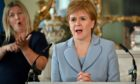 Scotland's First Minister Nicola Sturgeon will give a Covid briefing today