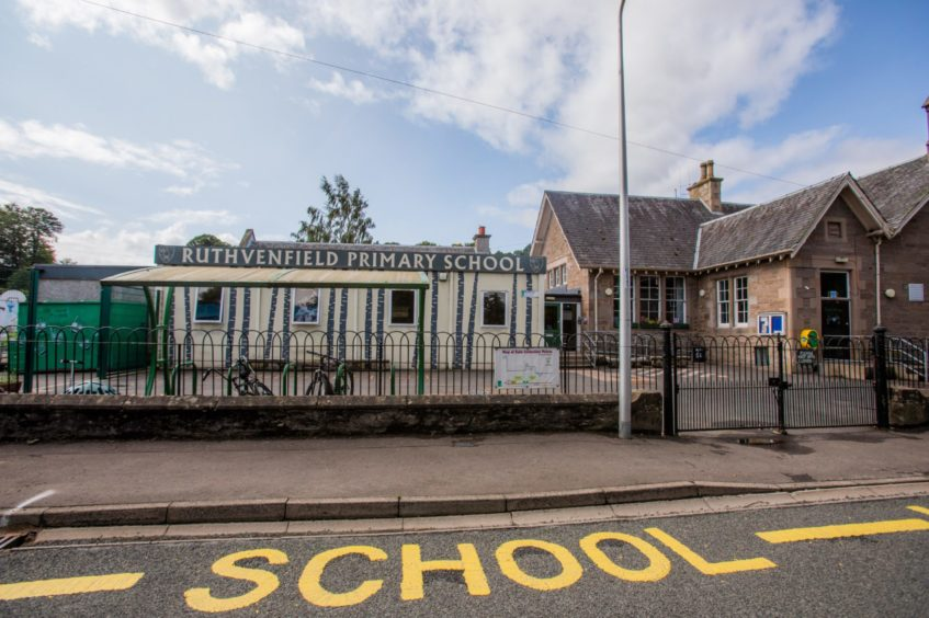 Ruthvenfield Primary School.