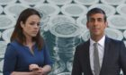 Kate Forbes and Rishi Sunak have had to make big spending promises.