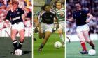 Stevie Frail, Fabian Caballero and Stuart Rafferty.