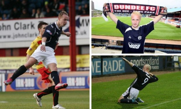 Leigh Griffiths has returned to Dundee.