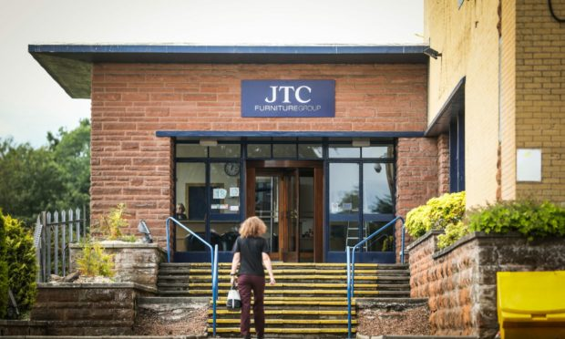 JTC Furniture Group headquarters in Dundee.