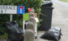 Waste on Balgowan Terrace in Kirkton earlier this summer.