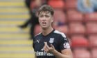 Jack Hendry in action for Dundee in 2017.