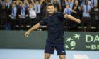 Jonny O'Mara is bidding to reach the quarter-finals of the US Open