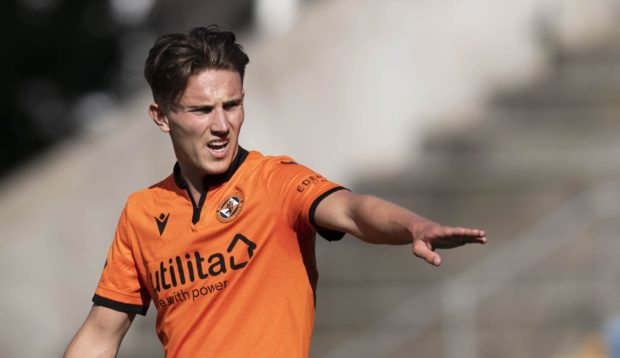 Dundee United winger Logan Chalmers could return to action soon.