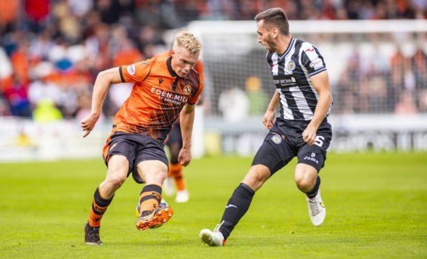 Ilmari Niskanen made his Dundee United debut at St Mirren