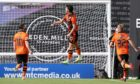 Ian Harkes helped Dundee United claim a derby day winner with his late goal