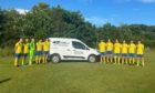 Carnoustie firm D J Laing has sponsored Arbroath Community Sports Club's Under 19s.