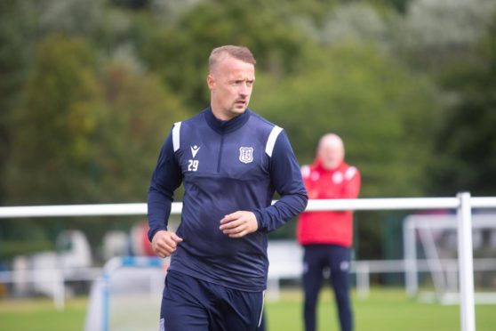 Leigh Griffiths may feature for Dundee on Saturday.