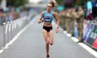 Eilish McColgan finished second in the Women's Elite Race during the 2021 Great North Run.
