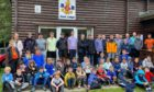 Dundee and Angus Battalion Boys' Brigade at Scott Lodge in Glen Doll.