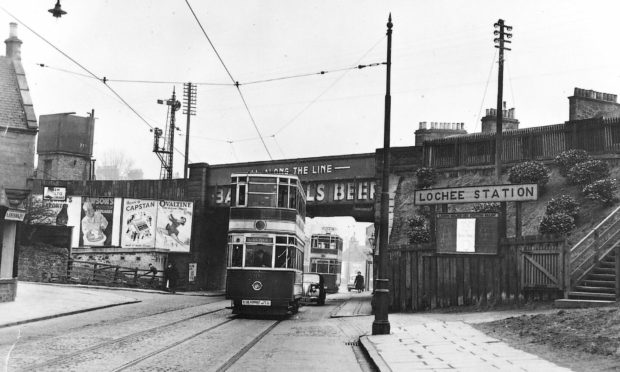 Dundee's iconic trams network ran from 1877 until the death knell sounded in 1956.