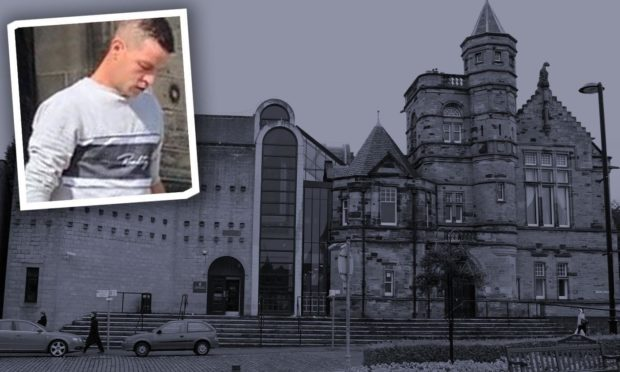 Daryl Stewart was jailed when he appeared at Kirkcaldy Sheriff Court.