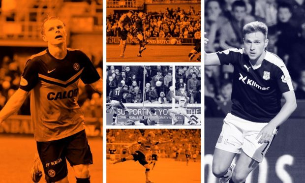 We've taken a look back at five of the best Dundee derby goals scored at Tannadice in recent history.