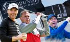 Ronan Keating, Peter Jones and Huey Lewis  will compete in the Alfred Dunhill Links Championship 20th anniversary.