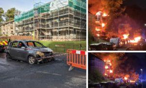 The fire on Foggyley Gardens