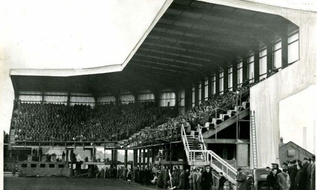Tannadice Park in December 1961.
