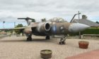 The Buccaneer jet in Elgin will now be moved 140 miles. Photo: Jason Hedges/DCT Media